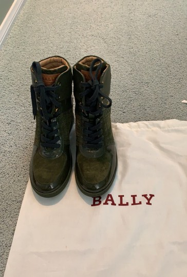 Bally green Boots Image 9