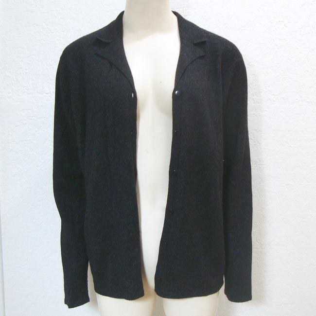August Silk Cashmere Cardigan Long Sleeve Button Sweater Image 2