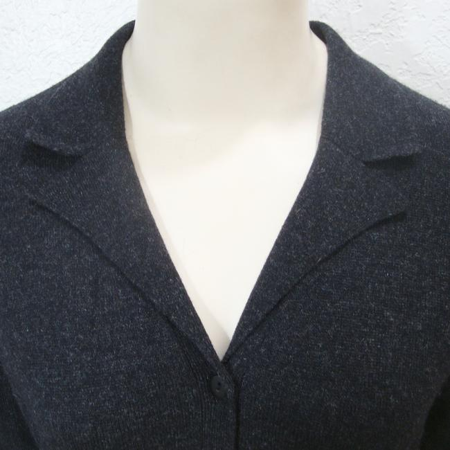 August Silk Cashmere Cardigan Long Sleeve Button Sweater Image 3