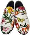 Gucci Loafers Flowers White multicolor Mules Image 0