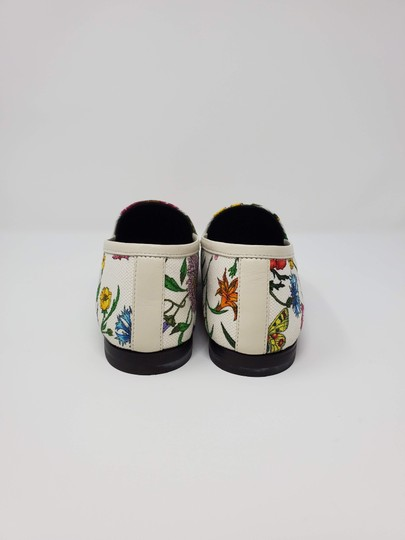 Gucci Loafers Flowers White multicolor Mules Image 3