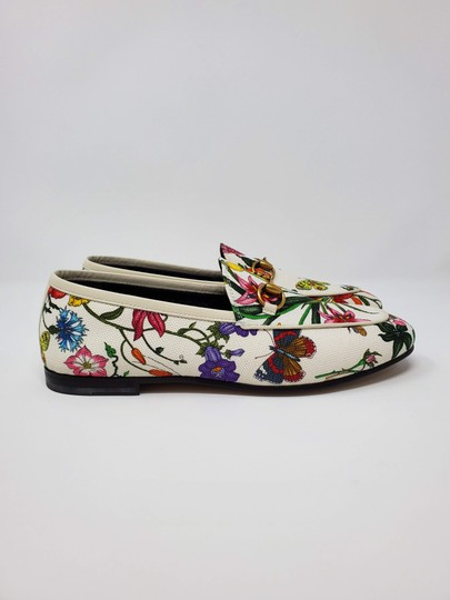 Gucci Loafers Flowers White multicolor Mules Image 4
