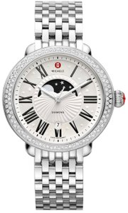 Michele NEW Michele Serein Moonphase Diamond MWW21D000002 Ladies Watch