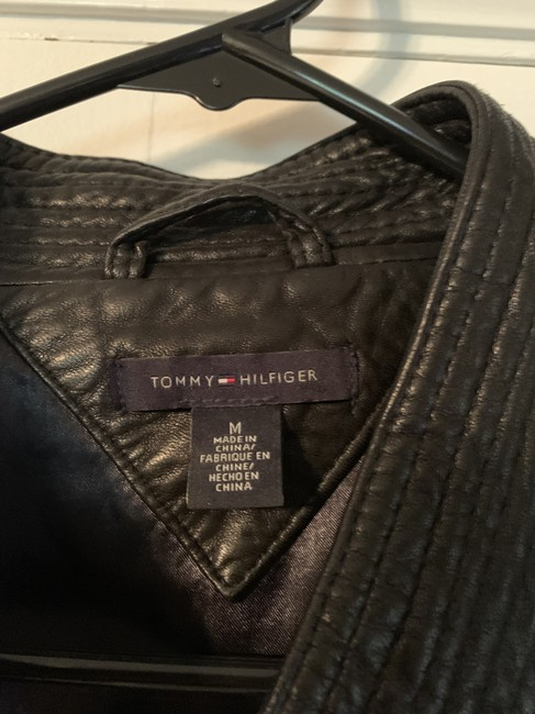 Tommy Hilfiger Leather Jacket Image 2