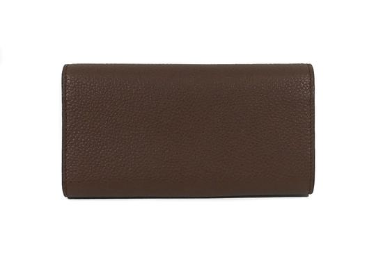 Gucci NEW GUCCI 400586 GG Marmont Leather Wallet, Brown Image 2