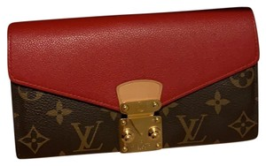 Louis Vuitton Cherry and monogram Clutch
