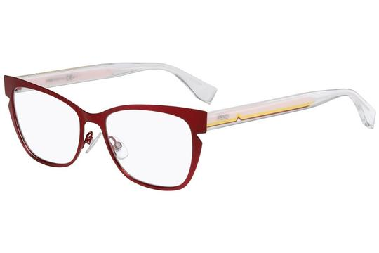 Fendi FF0135 N8W RX Prescription Eyeglasses Frames 53mm Italy Image 2