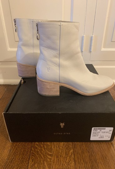 Frye Ankle white Boots Image 5