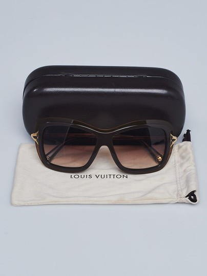 Louis Vuitton Brown acetate Louis Vuitton Poppy LV logo sunglasses Image 1