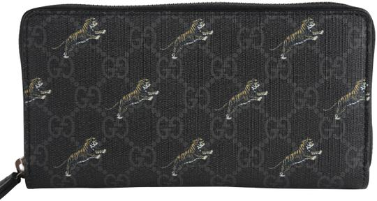 Gucci Gucci GG Tiger Print Zip Around Wallet Image 0