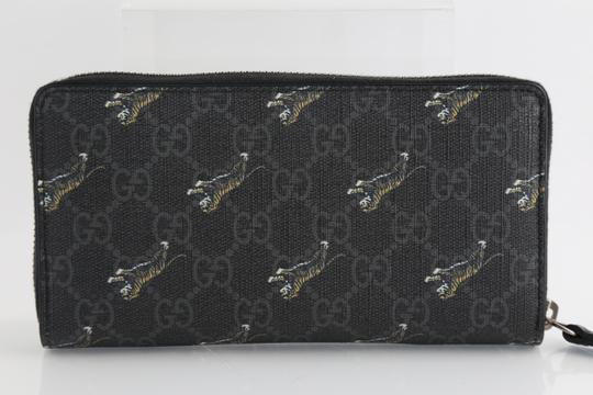 Gucci Gucci GG Tiger Print Zip Around Wallet Image 1