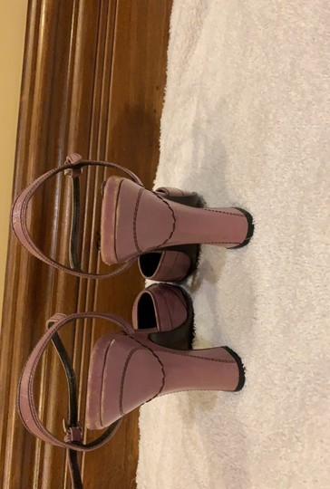 Prada purple with black stitching Platforms Image 3