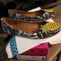 Tory Burch Brown/white Flats Image 2