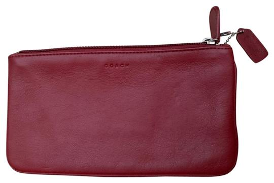Preload https://img-static.tradesy.com/item/25965680/coach-red-pouch-vintage-leather-cosmetic-bag-0-2-540-540.jpg