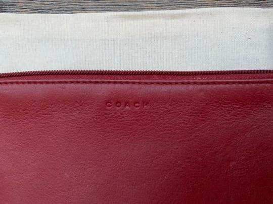 Coach Vintage Leather Cosmetic Pouch Image 2
