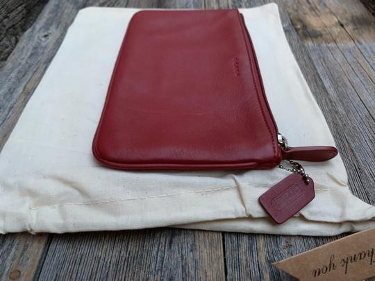 Coach Vintage Leather Cosmetic Pouch Image 3