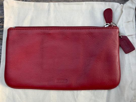 Coach Vintage Leather Cosmetic Pouch Image 7