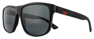 Gucci GUCCI Gg0010s - 001 Ray Logo On Temple Sunglasses