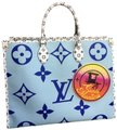 Louis Vuitton Tote in Blue Image 0