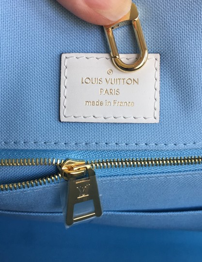 Louis Vuitton Tote in Blue Image 8