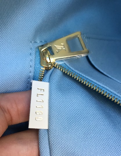 Louis Vuitton Tote in Blue Image 9