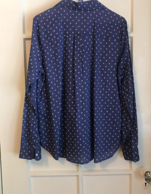 Old Navy Button Down Shirt blue Image 1
