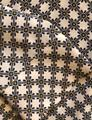 Ann Taylor Button Down Shirt White with Black and Yellow Image 5