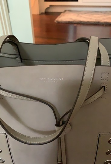 Tory Burch Tote in French Gray Image 4