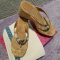 Tory Burch Snakeskin Wedges