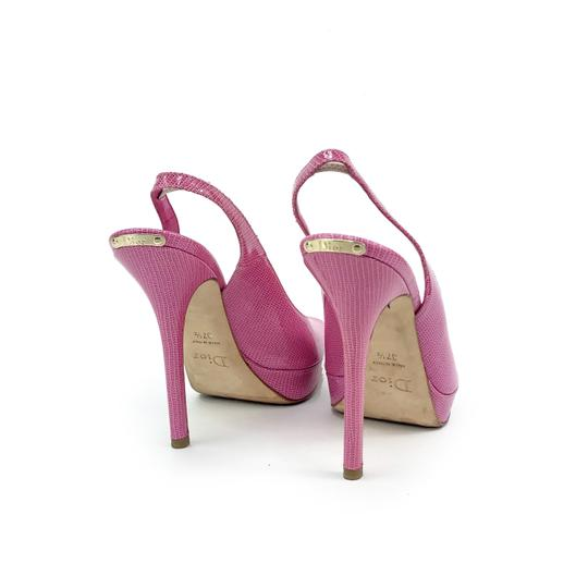 Dior Barbie Bubblegum Girly Cute Pink Pumps Image 3