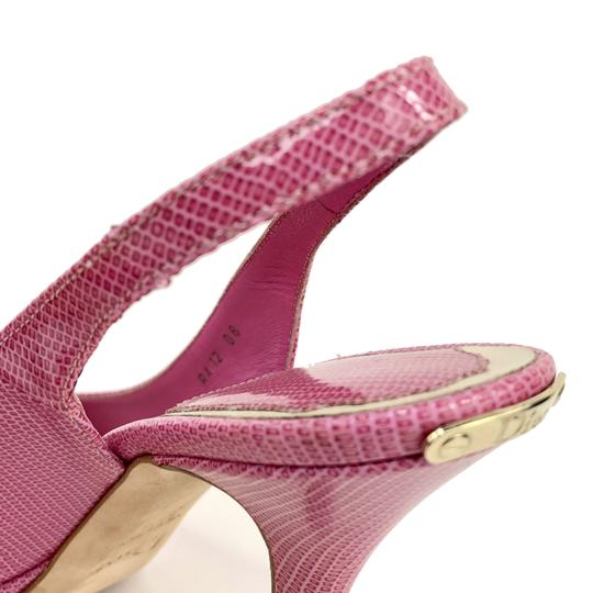 Dior Barbie Bubblegum Girly Cute Pink Pumps Image 6