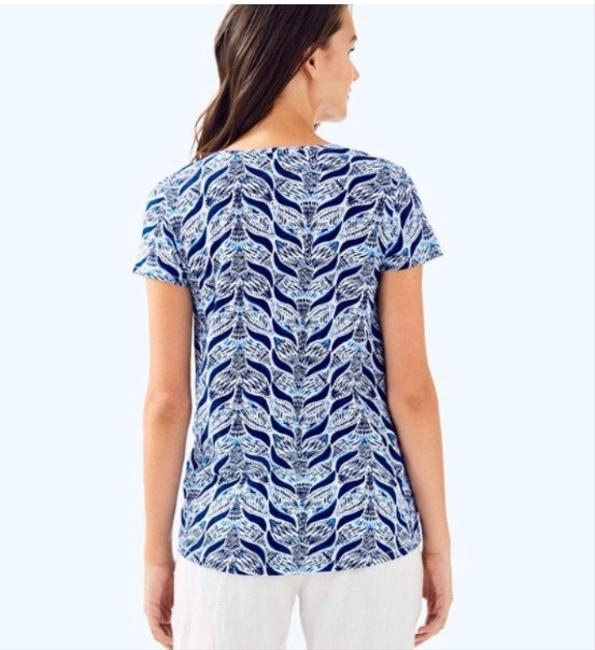 Lilly Pulitzer Mermaid T Shirt Blue Image 1