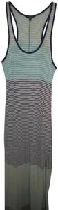 Multicolor Maxi Dress by Express Racerback Maxi Striped