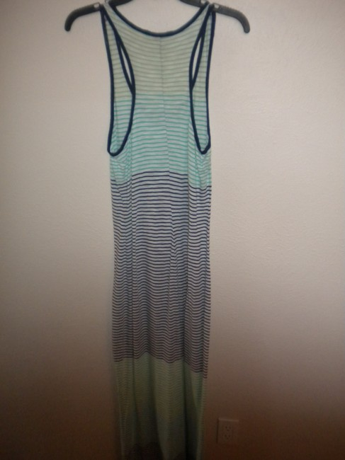Multicolor Maxi Dress by Express Racerback Maxi Striped Image 2