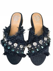 Vince Camuto blue denim Sandals