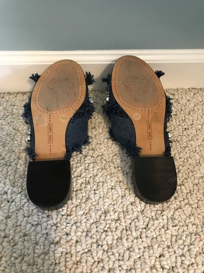 Vince Camuto blue denim Sandals Image 5