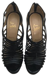 Christian Louboutin Black Wedges