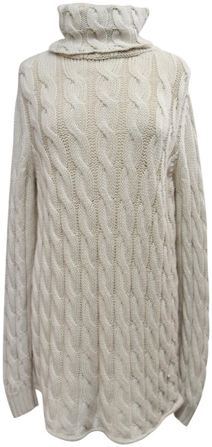 Preload https://img-static.tradesy.com/item/25966014/emerson-fry-beige-cable-knit-sweater-medium-short-casual-dress-size-8-m-0-2-650-650.jpg