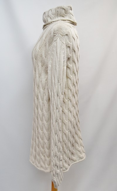 Emerson Fry short dress Beige Cable Knit Turtle Neck Sweater Wool Knit on Tradesy Image 2