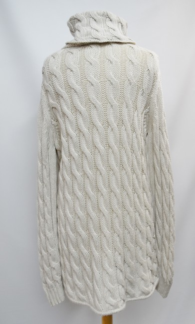 Emerson Fry short dress Beige Cable Knit Turtle Neck Sweater Wool Knit on Tradesy Image 3
