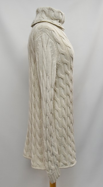 Emerson Fry short dress Beige Cable Knit Turtle Neck Sweater Wool Knit on Tradesy Image 4