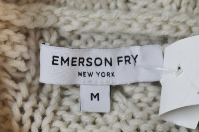 Emerson Fry short dress Beige Cable Knit Turtle Neck Sweater Wool Knit on Tradesy Image 5