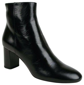 Saint Laurent Women's Leather Black Boots