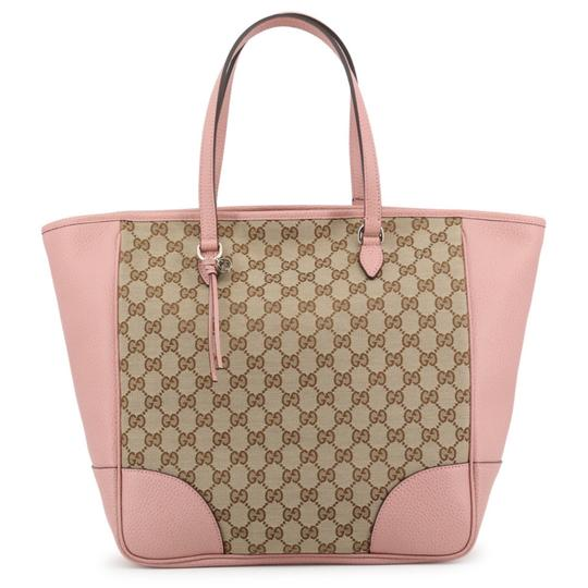 Preload https://img-static.tradesy.com/item/25966024/gucci-bag-bree-pink-brown-large-gg-guccissima-449242-leather-tote-0-0-540-540.jpg