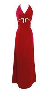 Alexia Designs Satin Style 4010 Formal Bridesmaid/Mob Dress Size 8 (M)