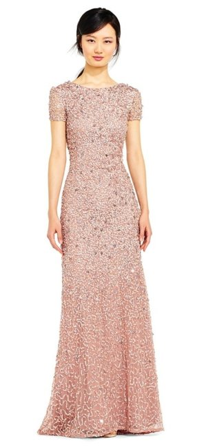 Preload https://img-static.tradesy.com/item/25966044/adrianna-papell-antique-rose-style-09187460-long-formal-dress-size-14-l-0-0-650-650.jpg