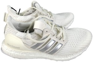 Silver adidas Sneakers Flat Up to 90% off at Tradesy