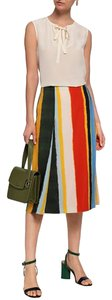 Tory Burch Professional Formal Skirt Multicolor