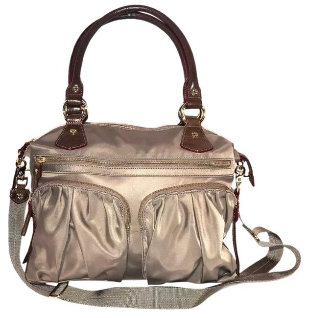 Item - Belle Clay and Brown Nylon Hobo Bag