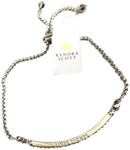 Kendra Scott Brand New Kendra Scott Ott Adjustable SILVER Chain Slider Bracelet